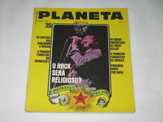 Planeta - O Rock Será Religioso? - Nº 35 - Agosto 1975