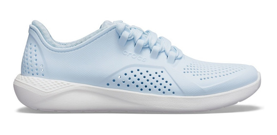 Crocs Literide Pacer Woman Mineral Blue/white -