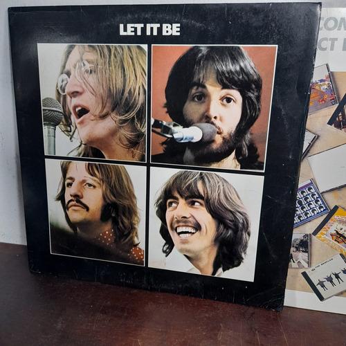 Imagem 1 de 8 de Vinil Lp The Beatles Let It Be Com Encarte