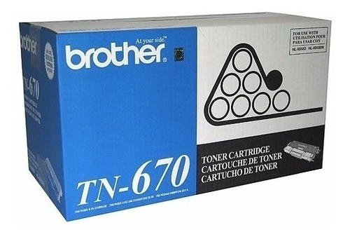 Toner Brother Tn 670 Tn670 Hl 6050 Original