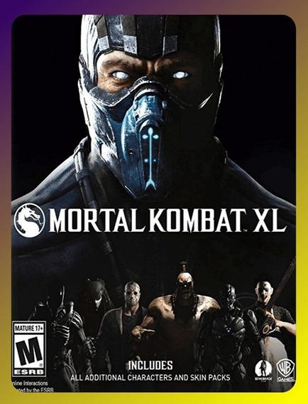 Mortal Kombat Xl Pc - Steam Key + Brinde