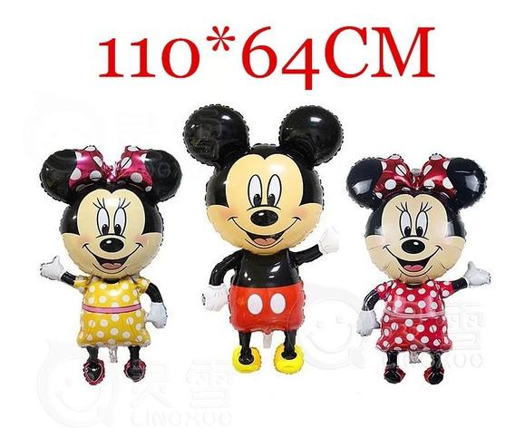 Globo Cuerpo Entero 112cm Minnie O Mickey