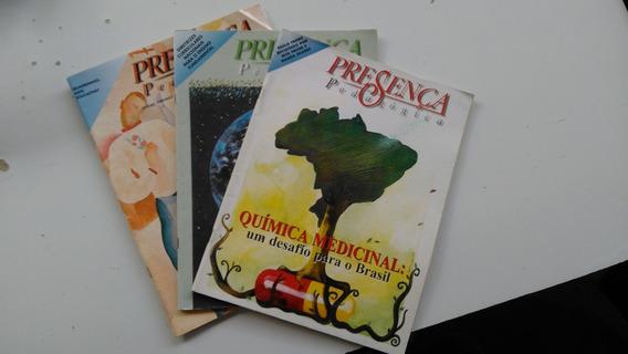 3(três) Revistas - Presença Pedagógica