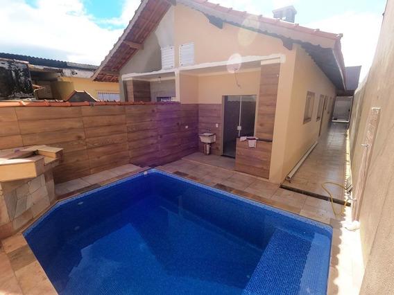 Vendo Casa C/ Piscina Em Mongaguá, Vl Oceanópolis Ref 8102 E