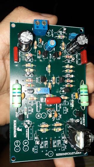 Placa Bx Pra Montagem De Amplificadores Potencias De Som