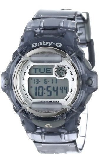 Casio Bg169r-8 Reloj Deportivo De Resina Gris Baby-g Para