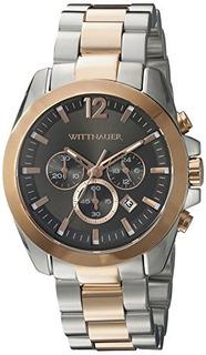 Wittnauer Mens Wn3023 Pulsera De Reloj De Dos Tonos De Acero