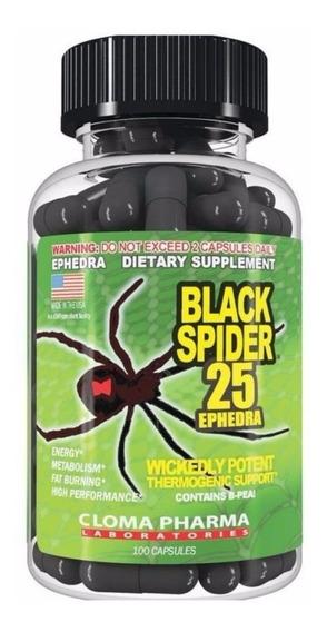 Cloma Pharma Black Spider 100 Cápsulas