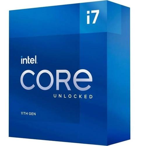 Procesador Intel Core I7-11700kf Lga1200 11va Bx8070811700kf