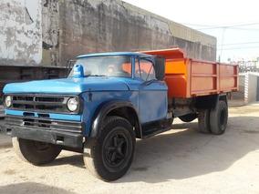Camión Dodge 800 Dp Con Caja Volcadora De 8m3