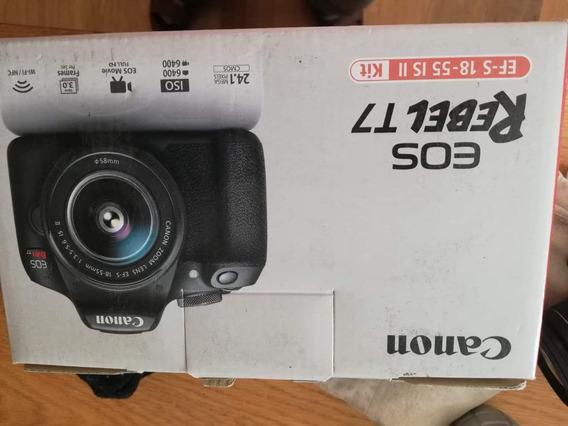 Venta Cámara Fotográfica Canon Rebel 7