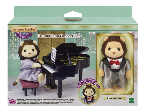Sylvanian Families Piano De Cola Concierto Leon 6011 Edu