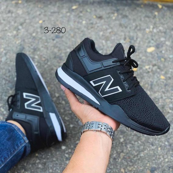 Dama Negro Caballero Mujer Balance 574 Zapatillas Tenis Y