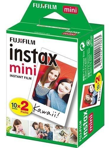 Filme Instantâneo Fuji Instax Mini Caixa 20 Fotos