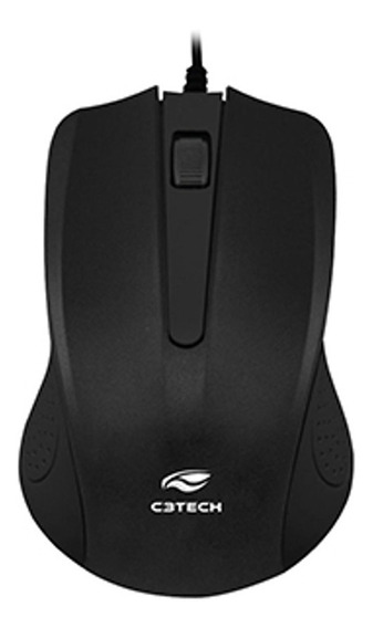 Mouse C3tech Ms-20bk Preto Usb