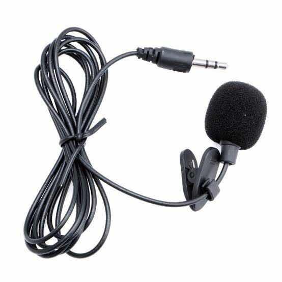 Microfone Lapela Simples