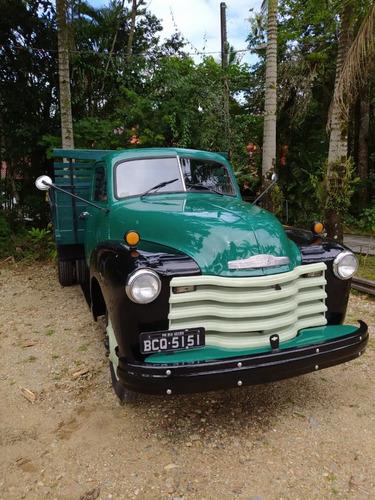 Imagem 1 de 8 de  Chevrolet  Caminhão ( Boca De Sapo ) 1951