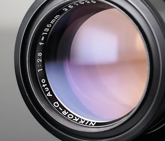 Lente Nikon Nikkor-q-135mm 2.8 - O Bokeh Mais Cremoso