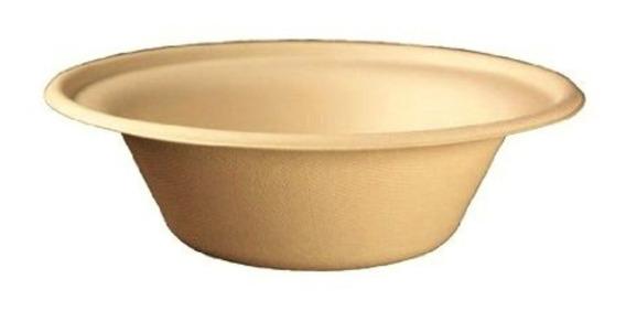 Plato Hondo Desechable Biodegradable 32 Oz - 500 Pzas