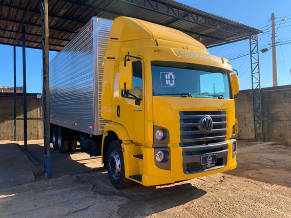 Volkswagen Vw 24250 24 250 Constellation Truck Baú 6x2 2011