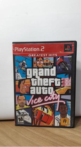Grand Theft Auto Vice City Ps2 Original Usado