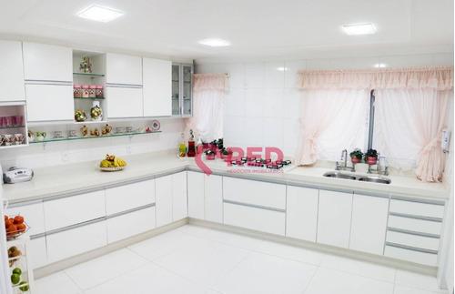 Sobrado Com 3 Dormitórios À Venda, 340 M² Por R$ 1.450.000,00 - Granja Olga - Sorocaba/sp - So0310