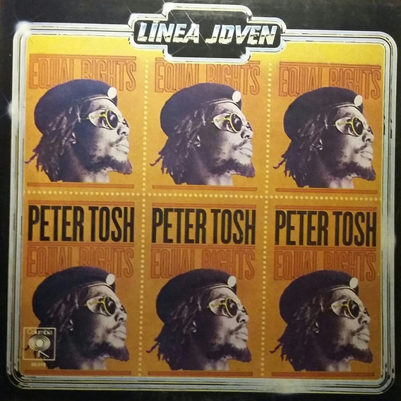 Disco Vinilo Peter Tosh Equal Rights Original 1977 Impecable