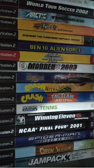 Jogos Originais Playstation 2 Americano Preços Variados