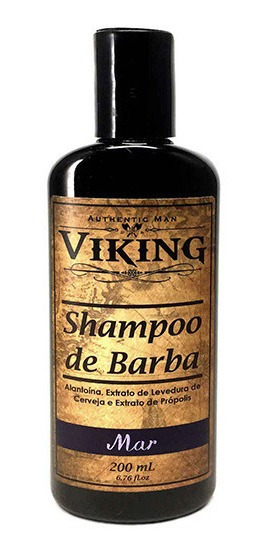 Shampoo De Barba Mar Viking 200ml