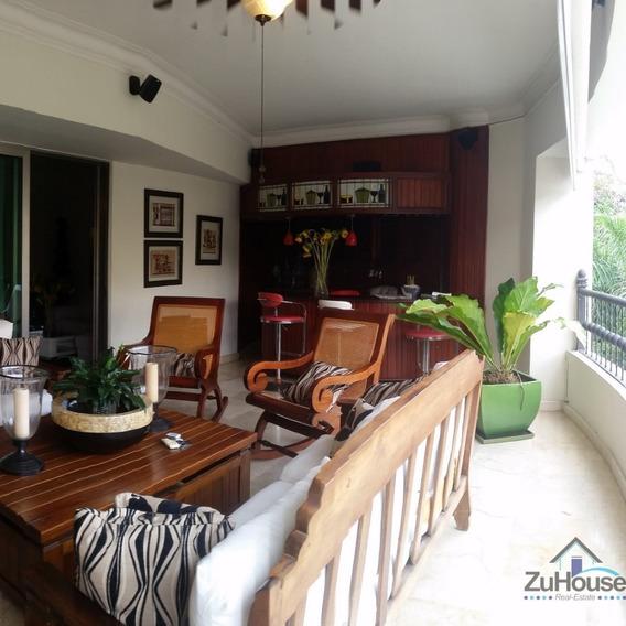 Apartamento En Torre De Prestigiosa Zona De Santiago Wpa170