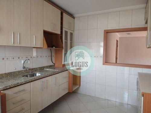 Imagem 1 de 30 de Apartamento Com 2 Dormitórios À Venda, 80 M² Por R$ 350.000,00 - Jardim Do Mar - São Bernardo Do Campo/sp - Ap1783