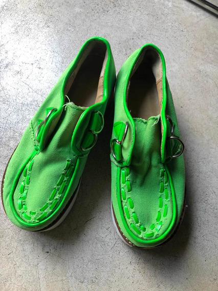 Zapatos C Plataforma Talle36 Plantilla 20 Cm