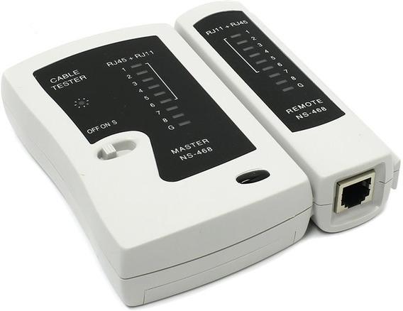 Tester Probador Lan Cable De Red Utp Rj45 Rj11