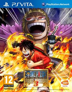 One Piece Pirate Warriors 3 -ps Vita- Juego Fisico-megagames