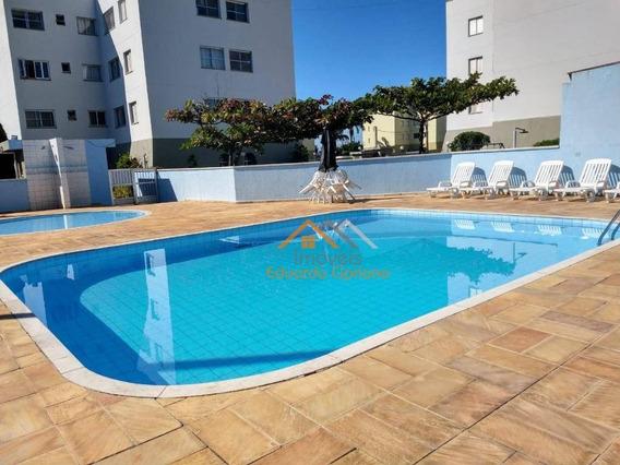 Apartamento Em Caraguatatuba Com Área De Lazer - Ap0207