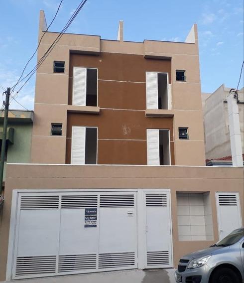 Cobertura À Venda, 96 M² Por R$ 285.000,00 - Vila Pires - Santo André/sp - Co0563