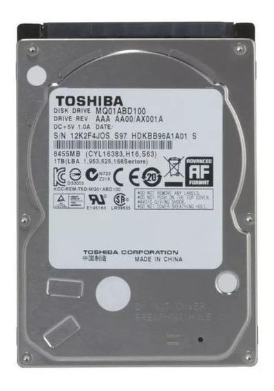 Hd 1tb Toshiba 1tera P/ Notebook Sata Ii 3.0 5400 Rpm