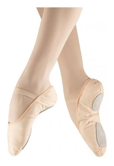 Zapatillas Zapatos Ballet Danza Gimnasia Flamenco Lona Cuero