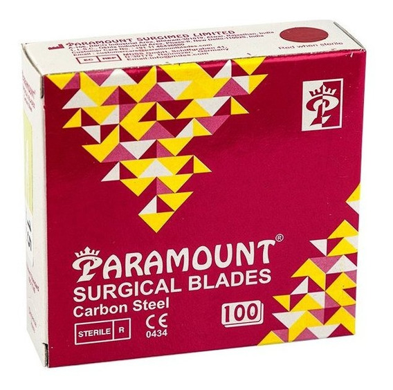 10 Cajas De Hoja De Bisturi Paramount 10 15 O 20