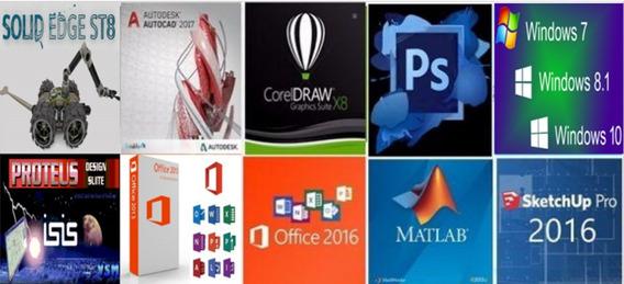 Lançamentos Programas DiversosCad, Corel, Photoshop, Office