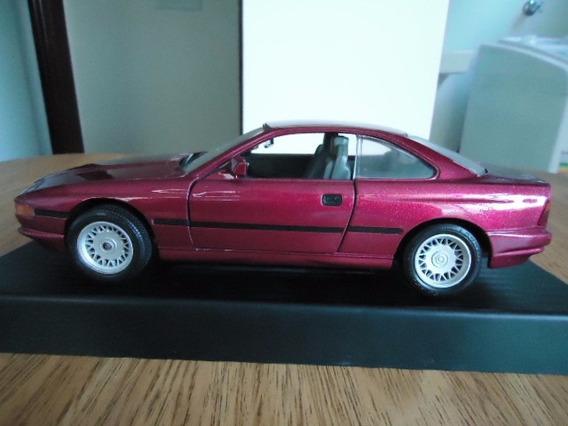 Miniatura Bmw 850i 1990 Escala 1/18