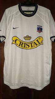Camisa Colo Colo Do Chile - Nike 2001/2002