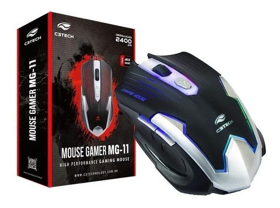 Mouse Gamer Mg-11 C3 Tech 2400dpi