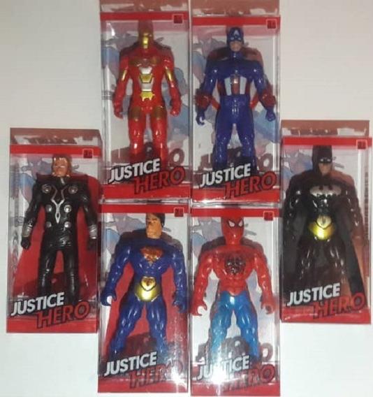 Figuras Batman Ironman Thor Spiderman Superman Capitan Niño