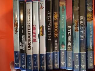 Playstation - Ps4 - Juegos Caja Sellados - Solo Canje Cambio