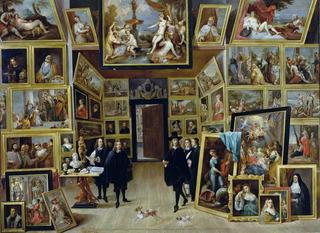 Puzzle Archiduque Leopold En Galeria De Arte- 4000pz Tomax