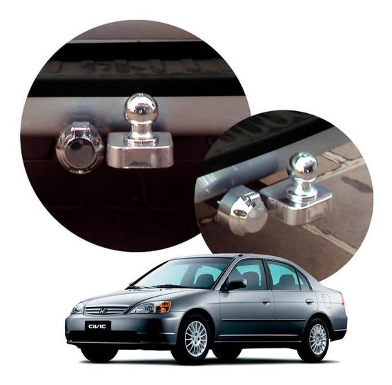 Engate De Reboque Civic 2001 2002 2003
