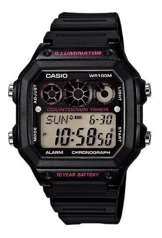 Relógio Casio Ae-1300wh + Garantia De 1 Ano + Nf