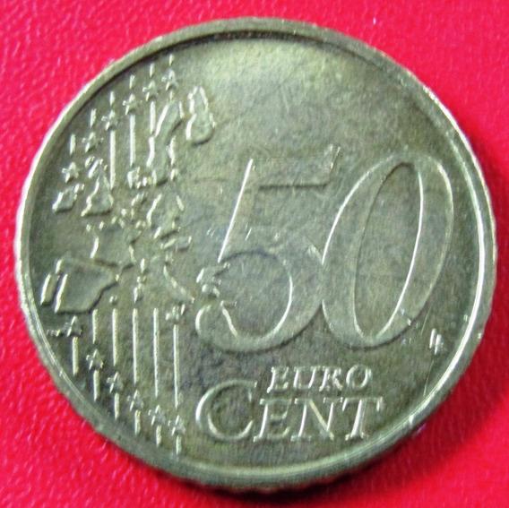 Belgica Moneda 50 Centavos 1999 Unc Km #229