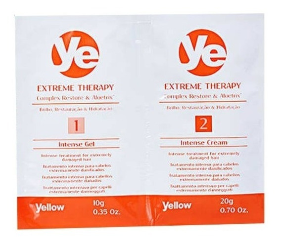 Yellow Extreme Therapy Sobres 6x10gramos